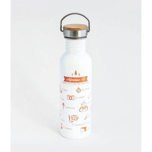 TMOD Adventure Stainless Steel Water Bottle - Camping Checklist