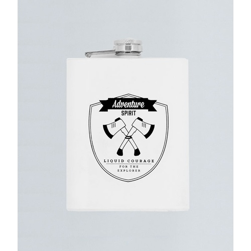 TMOD Adventure Stainless Steel Hip Flask - Axes