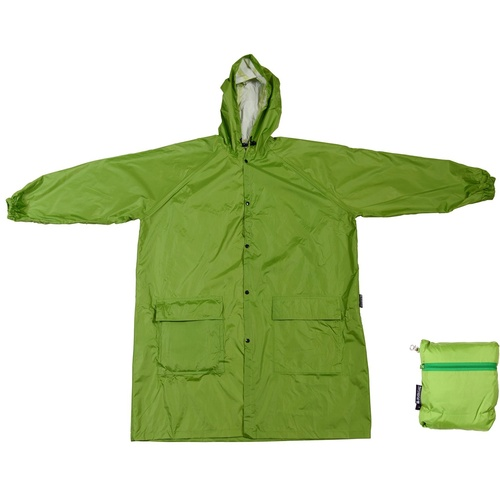Adults Compact Raincoat - Green