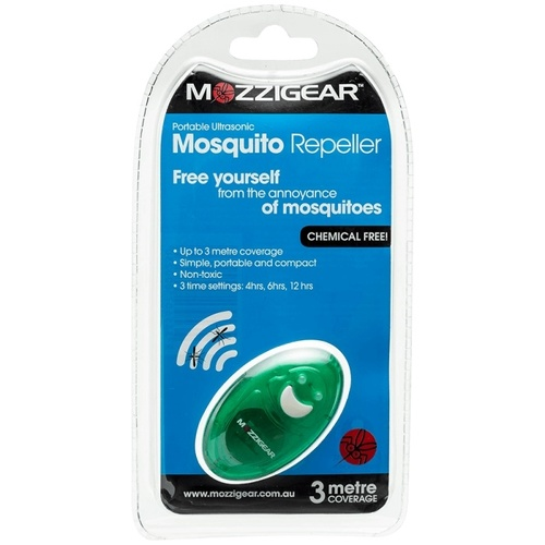 Mozzigear Portable Ultrasonic Mosquito Repeller