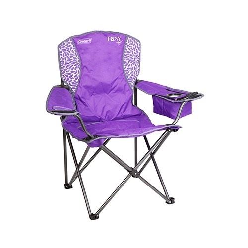 Coleman Foxy Lady Quad Chair - Purple
