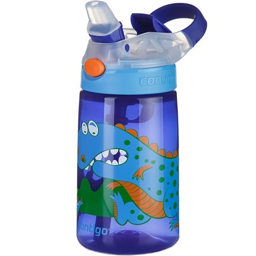 Contigo Kids Autospout Striker Water Bottle - Dinosaur
