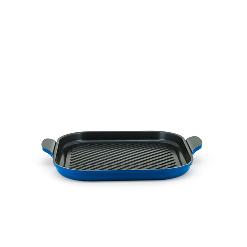 Neoflam Venn 34cm Square Grill Blue